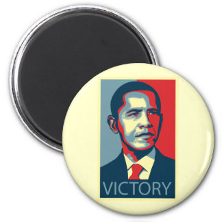 Victory 2 Inch Round Magnet