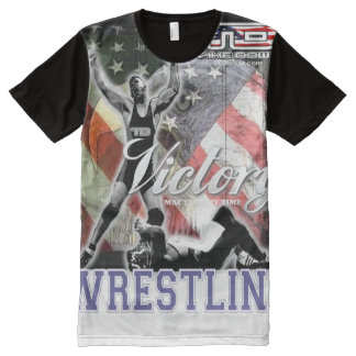 victory All-Over print t-shirt