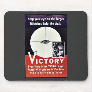 Victory Begins Here In The York Shops Mouse Pad