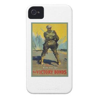 Victory Bonds Back Him Up WWI Propaganda WW1 iPhone 4 Case-Mate Case
