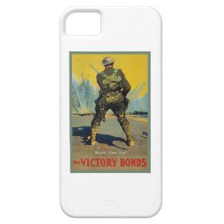 Victory Bonds Back Him Up WWI Propaganda WW1 iPhone SE/5/5s Case