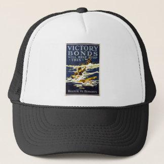 Victory Bonds will help stop this World War 1 1918 Trucker Hat
