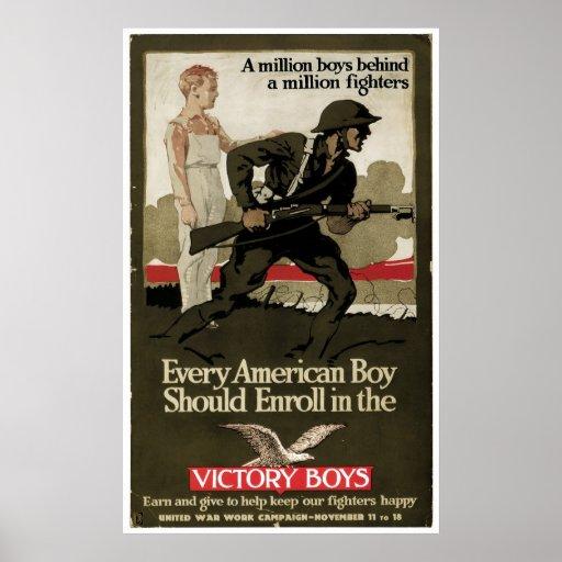 Victory Boys Print