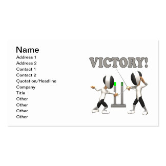 Victory Business Card
