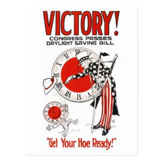 Victory-Cigar-Congress_Propaganda Poster Postcard