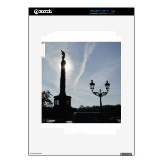 Victory-Column_02.01.G with street lamp, Berlin iPad 2 Skin