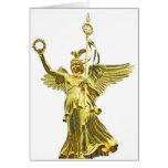 Victory Column Angel (siegessaule),Berlin (v10) Greeting Cards
