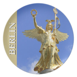 Victory-Column, BERLIN 003.01.T Melamine Plate