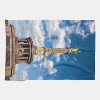 Victory column in Berlin (Germany) Hand Towel