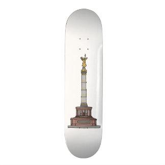 Victory column in Berlin Skateboard Deck