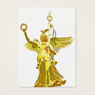 Victory Column(siegessaule),Berlin,Angel White Bac Business Card
