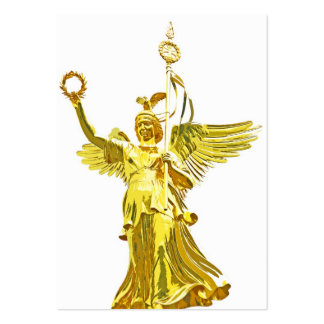 Victory Column(siegessaule),Berlin,Angel White Bac Business Card Templates