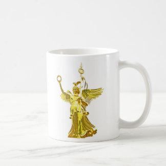 Victory Column(siegessaule),Berlin,Angel White Bac Coffee Mug