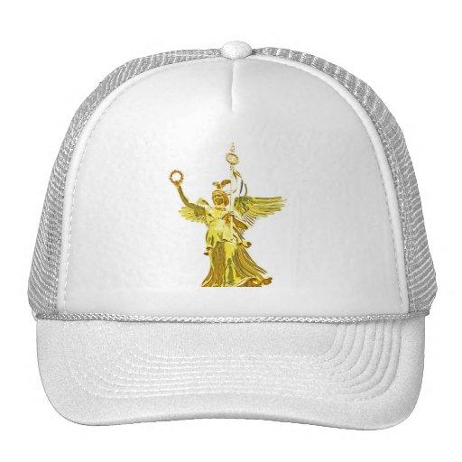 Victory Column(siegessaule),Berlin,Angel White Bac Trucker Hat