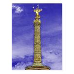 Victory Column (siegessaule), Berlin (Blue Sky) Postcard