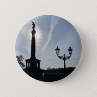 Victory-Column with street lamp, Berlin Pinback Button