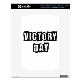 Victory Day Decal For NOOK