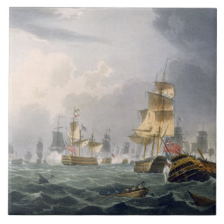 Victory de señor Howe, el 1 de junio de 1794, grab Azulejos Cerámicos