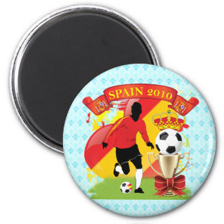 Victory for Spain 2 Inch Round Magnet