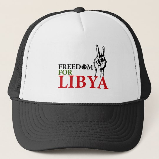 Victory & Freedom for Libya Trucker Hat