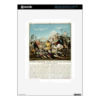 Victory Gained Over the English by Louis VIII (118 iPad 3 Skins