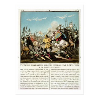 Victory Gained Over the English by Louis VIII (118 Postcard