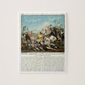 Victory Gained Over the English by Louis VIII (118 Puzzle