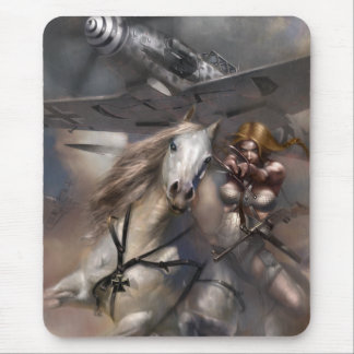 Victory Gal - Valkyrie Mouse Pad