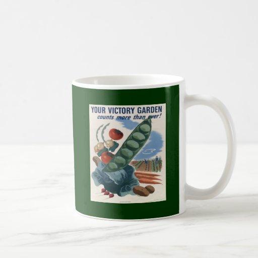 Victory Garden Coffee Mugs