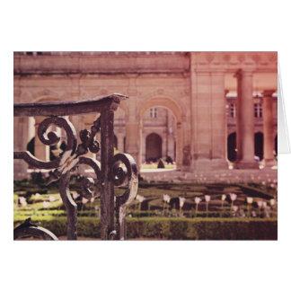 Victory Garden Gate Card