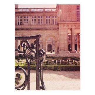 Victory Garden Gate Postcard