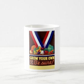 Victory Garden -- Grow Your Own Coffee Mug