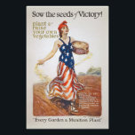 "Victory Garden Liberty Sow Seeds WWI Propaganda Photo Print<br><div class=""desc"">Home Front Victory Garden Liberty Sow the Seeds of Victory World War 1 WWI Propaganda Poster Image</div>"