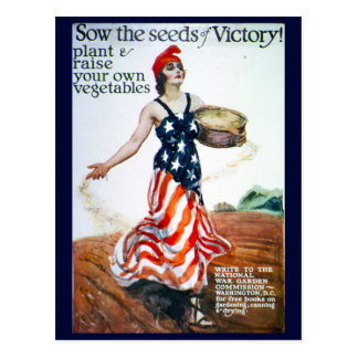 Victory Garden Post Cards