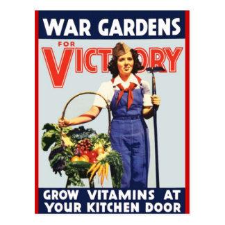 Victory Garden Postcard
