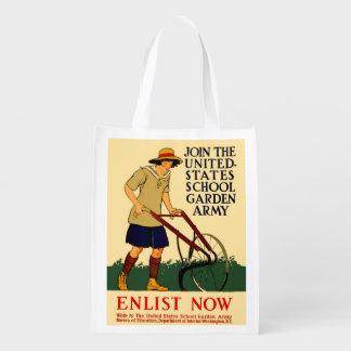 Victory Garden Reusable Grocery Bag