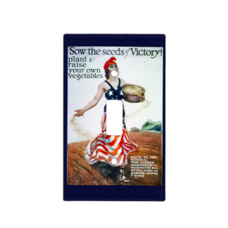 Victory Garden Switch Plate Cover