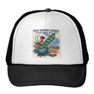 VICTORY GARDEN TRUCKER HAT