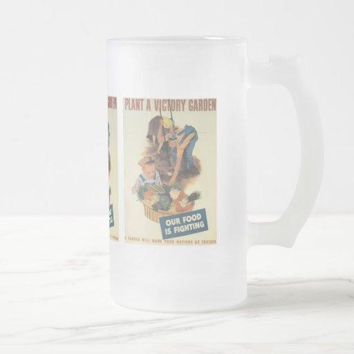 Victory Garden World War 2 Mugs
