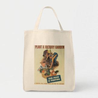 Victory Garden World War 2 Tote Bag