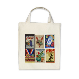 Victory Gardeners Unite! Tote Bags
