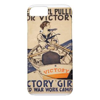 Victory Girls' 1918_Propaganda Poster iPhone 7 Case