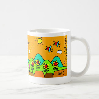 """""""Victory in Jesus""""  by Corey Couturier Classic White Coffee Mug"""