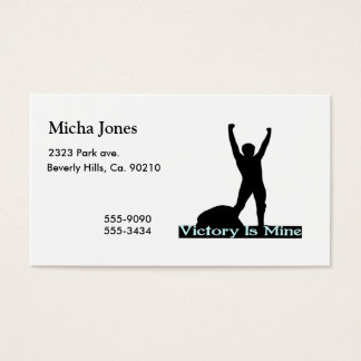 Victory Is Mine Business Card