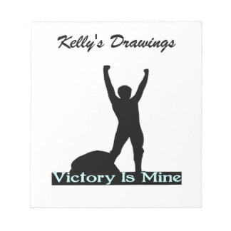 Victory Is Mine Notepad
