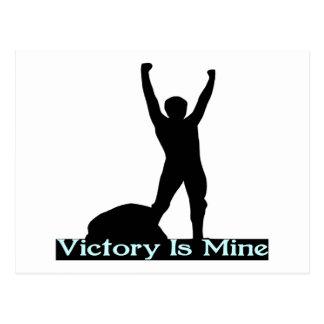 Victory Is Mine Postcard