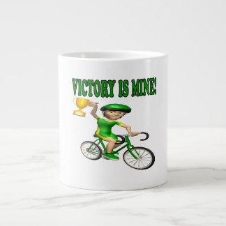 Victory Is Mine 20 Oz Large Ceramic Coffee Mug
