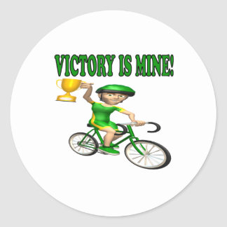 Victory Is Mine Stickers