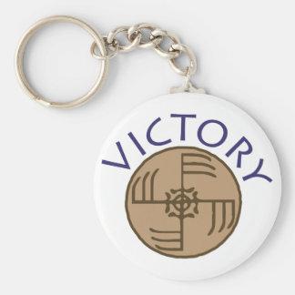 Victory Keychain