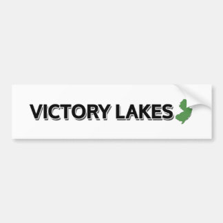 Victory Lakes, New Jersey Bumper Sticker